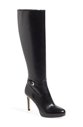 Michael Michael Kors 'Woods' Knee High Platform Boot Women Nordstrom Exclusive Black Leather