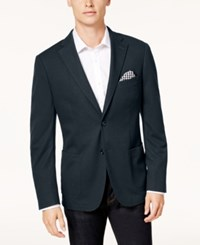 Bar Iii Men's Slim Fit Knit Sport Coat Created For Macy's Navy