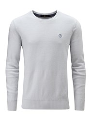 Henri Lloyd Men's Fanellan Regular Crew Neck Grey
