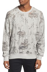 Eleven Paris Elevenparis Santa Fleece Sweatshirt Grey Melanged