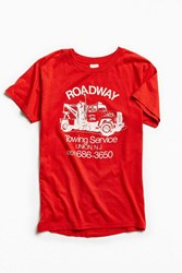 Urban Outfitters Vintage Towing Tee Red