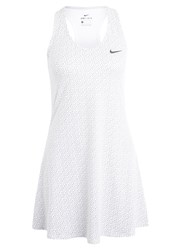 Nike Performance Sports Dress White Black
