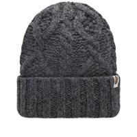 A Bathing Ape Cable Knit Hat Grey
