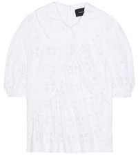 Simone Rocha Cotton Blend Top White