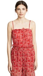 The Fifth Label Apricity Cami Scarlet Freesia