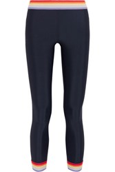 The Upside Rainbow Brights Stretch Jersey Leggings Midnight Blue