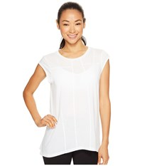 Lucy Effortless Ease Short Sleeve White Women's Clothing