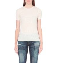 Ag Jeans Fallon Wool And Cashmere Blend Top Pww