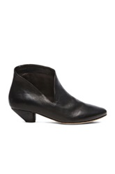 Marsell Marsell Cut Out Leather Ankle Booties In Black