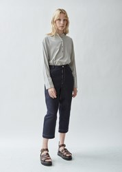 Nehera Paulo Cotton Linen Denim Pant Dark Blue