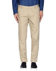 .. Beaucoup Trousers Casual Trousers Men Sand