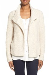 Women's Eileen Fisher Stand Collar Knit Jacket