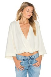 Minkpink Her Story Top Ivory