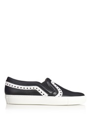 Givenchy Brogue Detailing Leather Skate Trainers