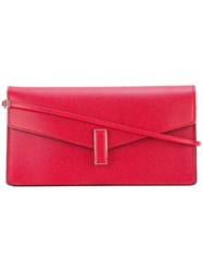 Valextra 'Iside' Clutch Red