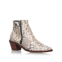 Hudson Azi Mid Block Heel Ankle Boots