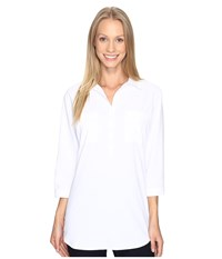Royal Robbins Expedition Chill Stretch Tunic White Women's Long Sleeve Pullover