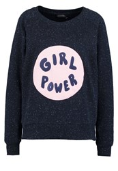 Eleven Paris Sweatshirt Navy Dark Blue