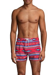 2Xist Fiesta Striped Ibiza Swim Shorts Fiesta Star