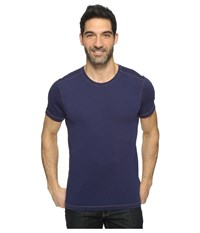 Agave Duke Short Sleeve Crew Rough Cut Jersey Eclipse Men's Clothing Olive