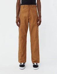 Orslow Canvas Painter Pant In Brown