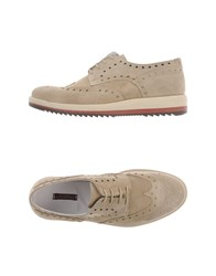 Ballantyne Footwear Lace Up Shoes Men Beige