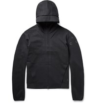 Nike Acg Cotton Blend Tech Fleece Zip Up Hoodie Black