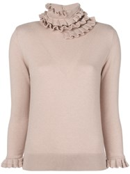 Barrie Cashmere Sweater Pink And Purple