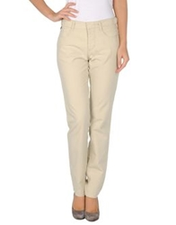 Baci And Abbracci Casual Pants Beige
