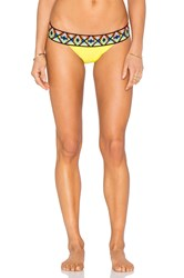 Sauvage Tribal Banded Rio Bottom Yellow