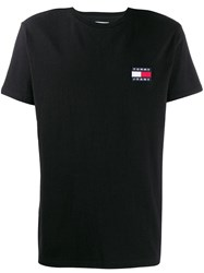 Tommy Jeans Logo Short Sleeve T Shirt Black