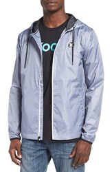 Hurley Men's 'Blocked' Ripstop Hooded Zip Jacket Pure