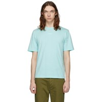 Band Of Outsiders Blue 'Outsider' T Shirt