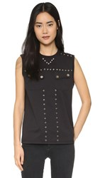 Opening Ceremony Studded Muscle Tank Black