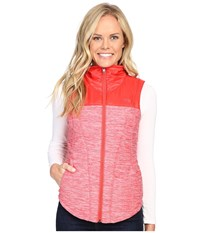 The North Face Pseudio Vest Melon Red Heather Melon Red Women's Vest