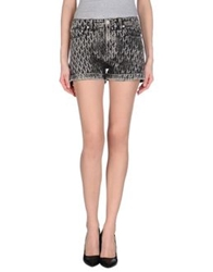 Karl By Karl Lagerfeld Denim Shorts Black