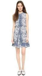 Madewell Marcy Silk Dress Vintage Canvas