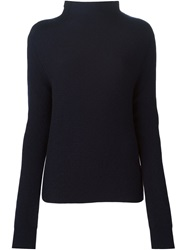 Liska Ribbed Sweater Blue