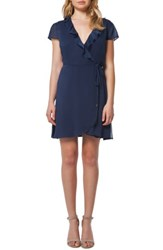 Willow And Clay Women's Ruffle Wrap Dress