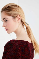 Urban Outfitters Camille Cone Hair Tie Gold