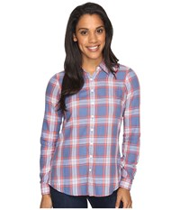Aventura Clothing Sheridan Long Sleeve Dutch Blue Women's Long Sleeve Button Up