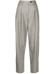 Tela High Rise Pleated Wide Leg Trousers 60