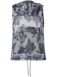 Adidas By Stella Mccartney Floral Gilet Grey