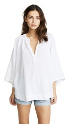 9Seed Marrakesh Cover Up Top White