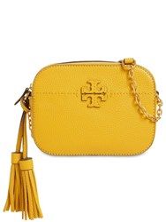 Tory Burch Mcgrow Leather Camera Bag Day Lily