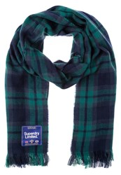 Superdry Capital Scarf Black Watch