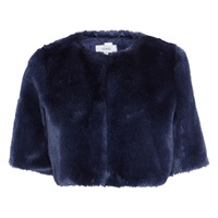 Coast Faux Fur Cover Up Blue