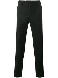 Givenchy Star Stud Tailored Trousers Men Silk Cotton Polyester Wool 46 Black
