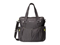 Sherpani Wisdom Yoga Tote Bag Heathered Black 1 Tote Handbags