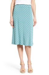 Women's Caslon A Line Knit Midi Skirt